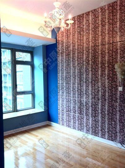儿童睡房的窗帘手绘图